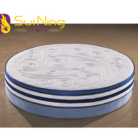 bonnell coil spring circular bed round mattress