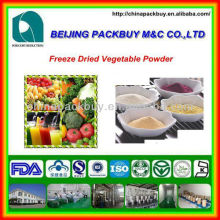 100% Natural Freeze Dried Vegetable Powder:freeze dried vegetable powder