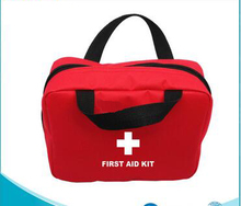 outdoor survival kit red emergency bag/promotional first aid kit for car travel