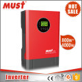 MUST Off Grid Pure Sinw Wave DC to AC 3KVA 24V Home Inverter Ups without Battery