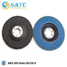 Angle Grinder Flexible grinding flap disc blue