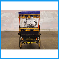 Battery Operated E Rickshaw Electric Three Wheel Tricycle For Indian Market