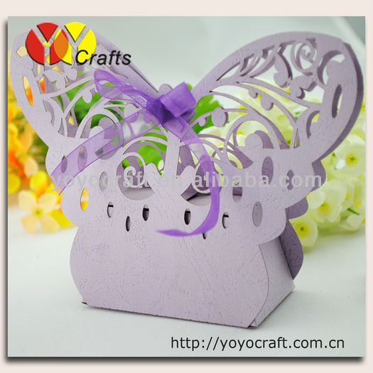-WB29 butterfly box baby shower favors wholesale shower items