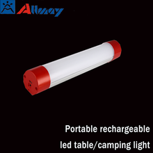 Portable LED camping light cob 2w 4 channel for hiking lighting