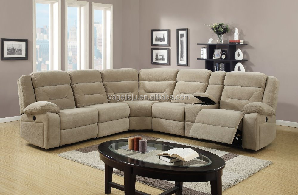 Motion sectional living room furniture reclining corner sofa bed buy reclining corner sofa for Motion living room furniture