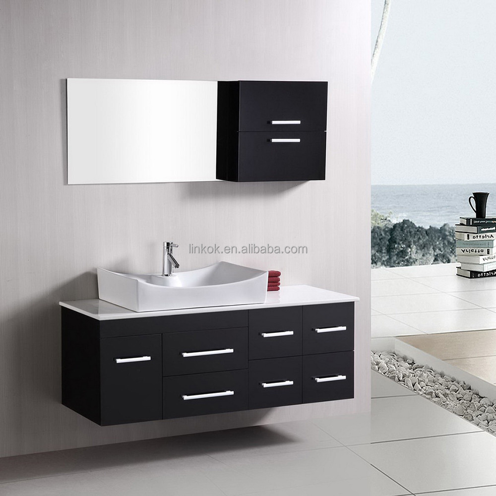 High end modern lacquer bathroom cabinet vanity buy for High end vanities