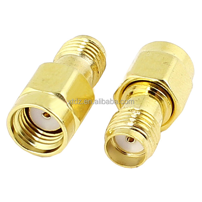 SMA Female to Female Screw Plug RF Coaxial Connector