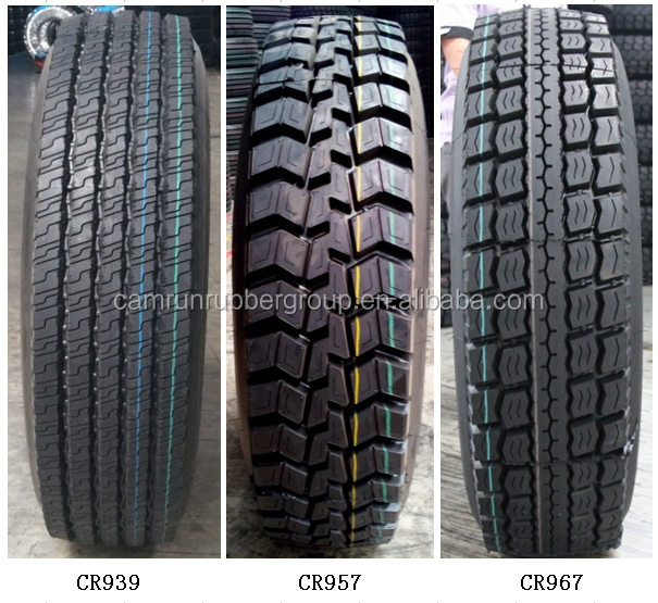 Chinese high quality Camrun 295/80R22.5 truck tires