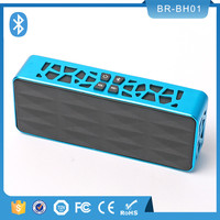 latest design portable mini warterproof 3D stereo loudspeaker bluetooth wireless hi power multimedia speaker