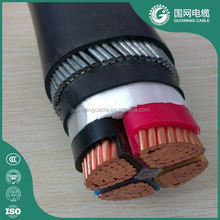 Low Voltage Xlpe Insulated Power Cable Cables De Electricidad 50 Sq Mm Copper Cable SWA/STA/AWA Awg 300v Black Blue