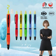 2016 office supply marker pen with ballpoint for kids