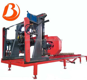 Portable Bandsaw Sawmill For Sale / Mobile Wood Bandsaw Wheels Sawmills