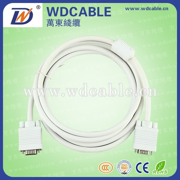 good quality type of vga cable for factory