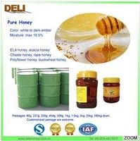 golden color bulk honey