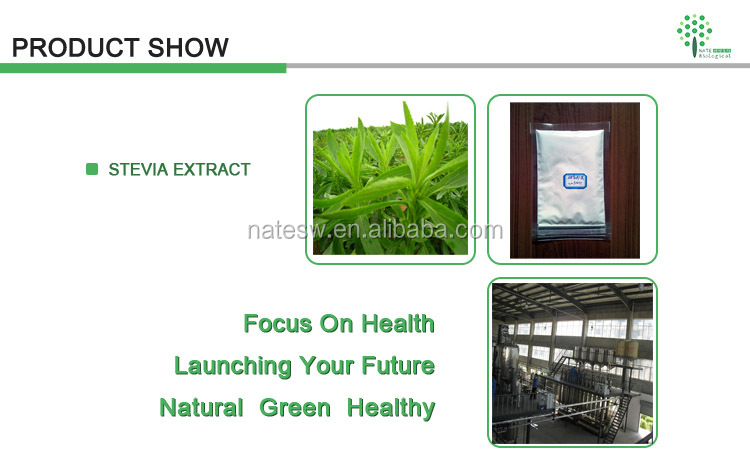Stevia Extract Powder Stevioside 98% Stevioside 95% from Sweeteners Supplier