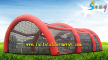 Waterproof Large Inflatable Party Tent Accommodating Hundreds People
