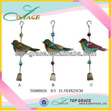 Stain glass indoor wind chimes india