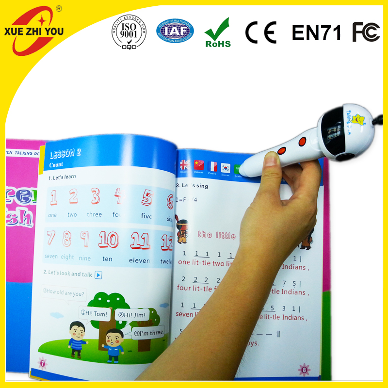 Wholesale Programed English Talking Pen Book Reading Pen Arabic