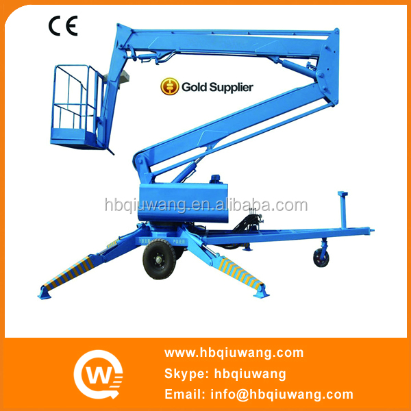 Hydraulic truck mounted elevated work platform
