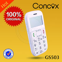 Concox gps senior alarm phone with super-long standby for 7 days for olds GS503