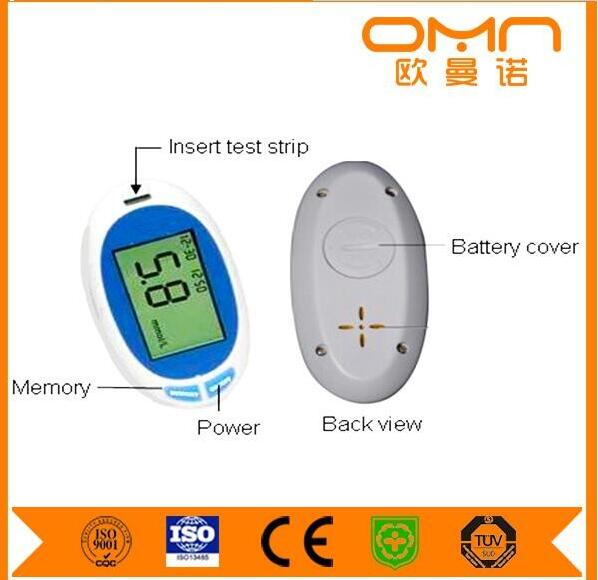 Easy Operate Uric Acid, Cholesterol Multi-function Blood Glucose Monitor