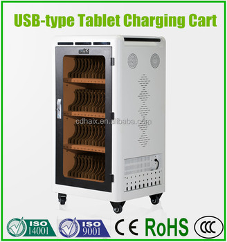 SYNC &Charging Tablet Charging cart USB port intelligent charging system