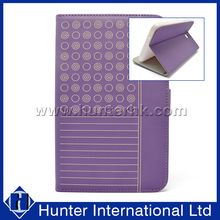 Purple Color Polka Dots Tablet Case For Tab E