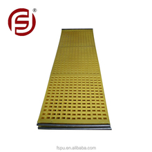 polyurethane screen panel for ore classification