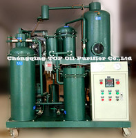 TOP New Condition Vacuum Hydraulic Oil Filter Machine, Oil Purifier, used for metallurgy, oil field, chemistry, mine