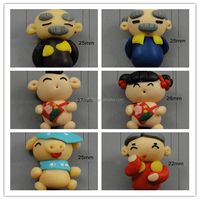 Baby Charms Mixed Patterns Fimo Polymer Clay for Jewelry Making