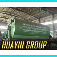 plastic bottle to oil machine recycling waste tyres pyrolysis plant with 400 CBU GAS per batch fuel request