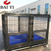 Luxurious metal square tube dog cage