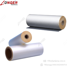 Food Grade Clear PVC Film in Rolls Glassine Paper Heat Resistant Bopp Jumbo Roll Film Scrap Color Cellophane