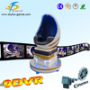 2016 amusement park 5D 7D 9D egg VR cinema single seat 9D Cinema Simulator equipment Made In guangdong