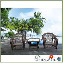 New Model Outdoor Garden Sets Rattan Chair Set & Coffee Tables