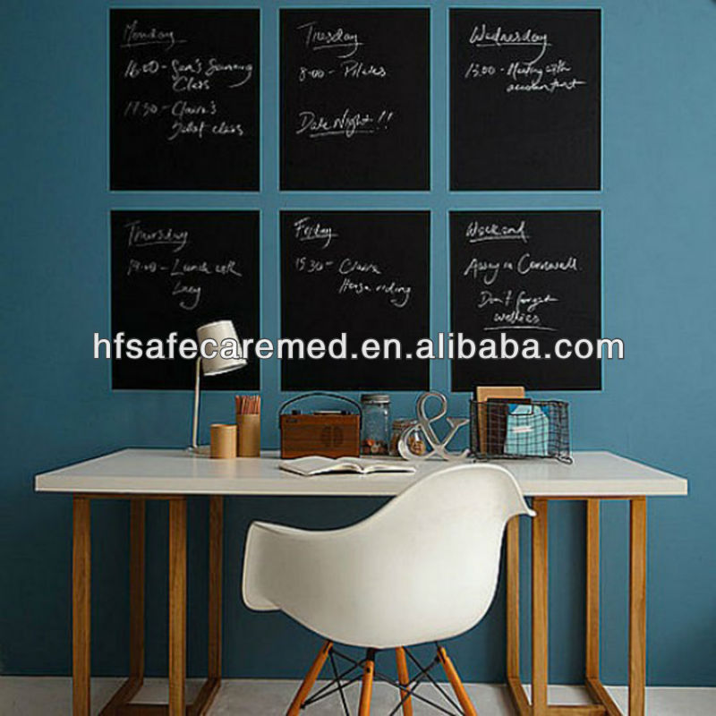 Self adhesive eco-friendly blackboard chalkboard sticker