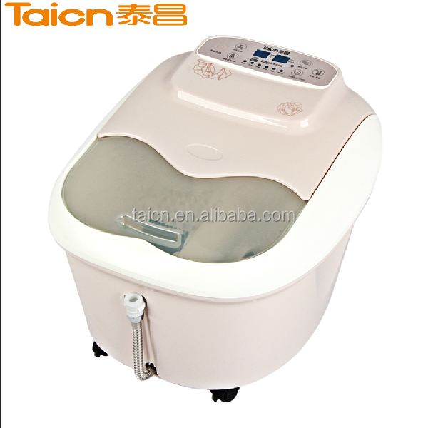 electric pedicure foot spa massager tub tc-8101
