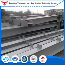 High Quality Welded H Column/Beam for steel structure building in Low Cost
