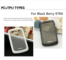 TPU mobile phone case for blackberry 9700