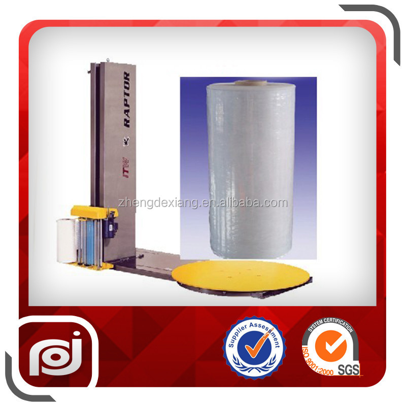 Asia Machine Use Packing Blue Film Stretch Film