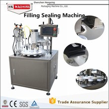 HX-006 High Quality Soft Tube Filling &sealing cosmetic machine,production in 2015,Can be customized according to requirements