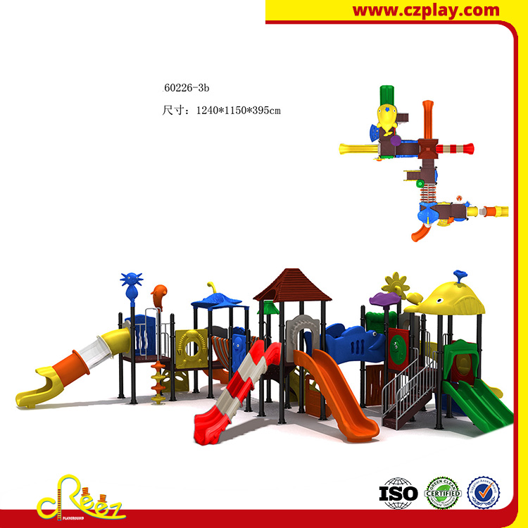 Huge children outdoor play ground equipment amusment playgrounds
