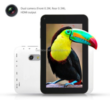 2014 New WIFI China Android 7 Inch A23 Dual Core Android Tablet without Sim Card