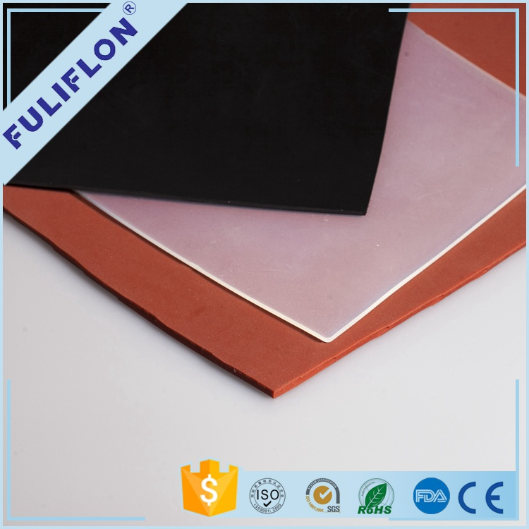 OEM silicone rubber customized silicone rubber sheeting