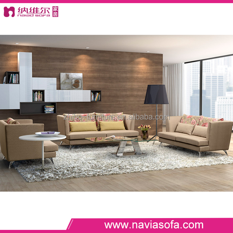 living room simple modern fabric sofa set 3 2 1 seat couch designs