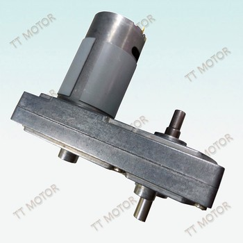GM100F-555PM 100mm micro dc worm gear motor 24v electric