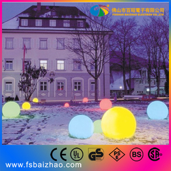 50 cm led magic ball rechargeable waterproof led ball lighting decoration BAIZHAO