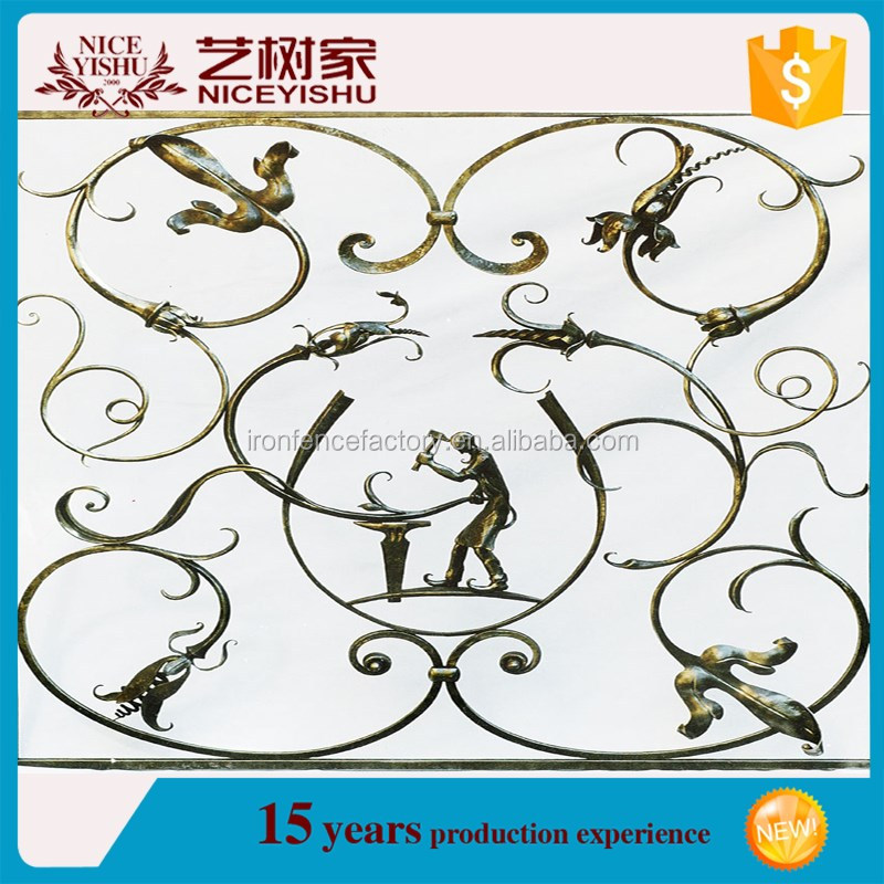 High quality wrought iron window grill design/cheap house windows for sale/designs of protections for windows