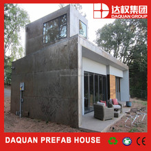 low cost prefabricated house with marble cladding