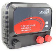 Wireless remote control perimeter security electric fence energizer with alarms